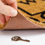 Doormat key
