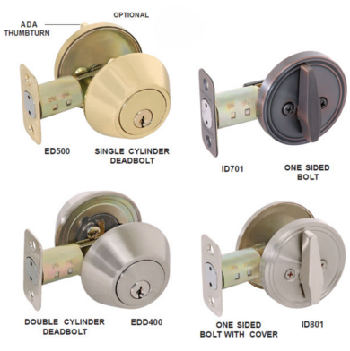 Types Of Deadbolt Locks Which One To Choose